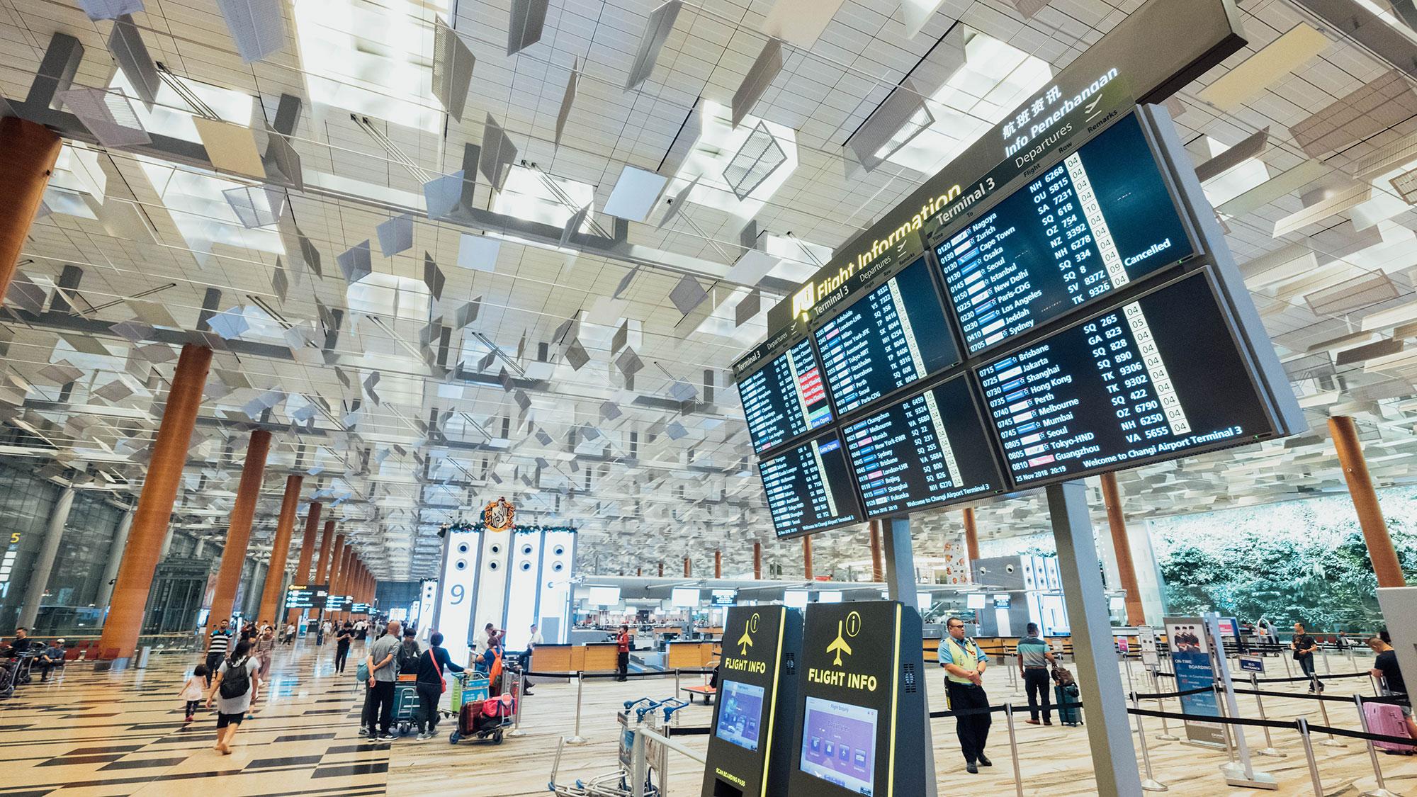 lobby do Aeroporto